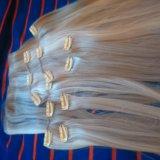 Искусственные волосы на заколках. Фото 2.