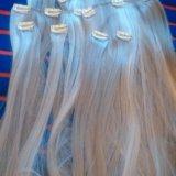 Искусственные волосы на заколках. Фото 4.