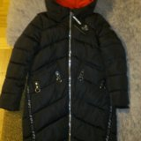Новая зимняя куртка удлинненая. Фото 3.