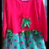 Новогодние платье. Фото 4.