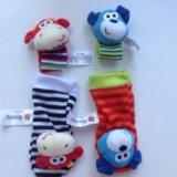 Носочки и браслеты на руки игрушки. Фото 2.