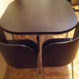 Стол со стульями икея. Фото 2.