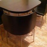 Стол со стульями икея. Фото 4.