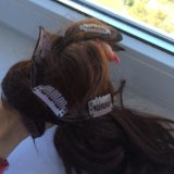 Волосы на заколках. Фото 2.