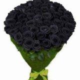 Розы черные,синие,радужные,классика. Фото 4. Москва.