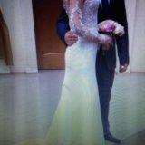 Свадебное платье ( одевала на регистрацию) торг. Фото 4.