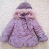 Куртка зимняя на 3-5 лет. Фото 1. Краснодар.