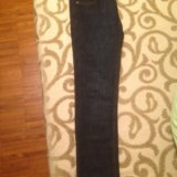 Тёмные джинсы massimo dutti slim fit. Фото 1. Москва.