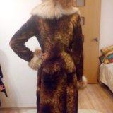 Шуба женская мутон-лиса. Фото 1.