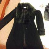Женское пальто мех натуральный. Фото 1.