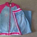 Спортивный джинсовый костюм. Фото 1.