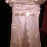 Нарядное платье на 5-7 лет. Фото 3.
