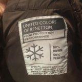 Пуховик зимний united colors of benetton  xs 40-42. Фото 4.