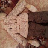 Комбез зимний на капюшоне натур.мех. Фото 1. Тюмень.
