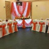 Оформление банкетного зала на свадьбу. Фото 1.