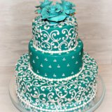 Свадебные торты. Фото 2.