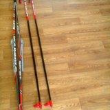 Лыжный комплект (лыжи, палки, ботинки, крепления). Фото 1. Ижевск.