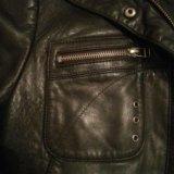 Натуральная кожаная куртка. Фото 3.