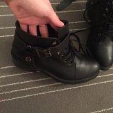 Полусапожки ,ботинки демисезонные. Фото 1.