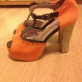 Туфли босоножки  женские. Фото 2.