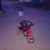 Детский прогулочный велосипед. Фото 1.