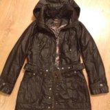 Куртка- плащ демисезонная на  тонком синтепоне.. Фото 1.