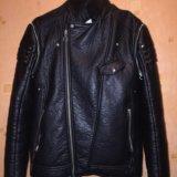 Кожаная куртка косуха жилетка. Фото 2. Москва.