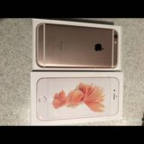Iphone 6s 128gb rose gold (плюс 2 чехла apple). Фото 2.