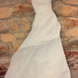 Платье свадебное белое р.42-44 s. Фото 3.