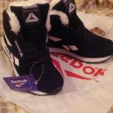 Распродажа!!!кроссовки с мехом женские reebok. Фото 1.