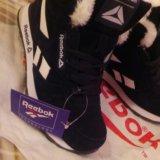Распродажа!!!кроссовки с мехом женские reebok. Фото 2.