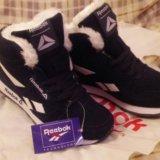 Распродажа!!!кроссовки с мехом женские reebok. Фото 3.