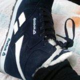 Распродажа!!!кроссовки с мехом женские reebok. Фото 4.
