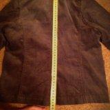 Вельветовый пиджак на 120 рост. Фото 3.
