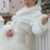 Свадебная шубка-балеро. Фото 1.