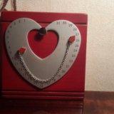 Сувенир. магнитный календарь. сердце. Фото 3.