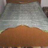 Кровать+матрас. Фото 1.