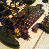 Запчасти от радиоуправляемой машинки, масштаб 10. Фото 3.