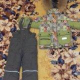 Зимняя куртка комбинзон на мальчика. Фото 1. Волгоград.