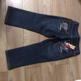 Новые джинсовые утеплённые капри. Фото 4.