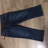 Новые джинсовые утеплённые капри. Фото 2.