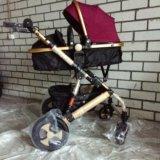 Детская коляска-трансформер jiaobei 2 в 1. Фото 1.