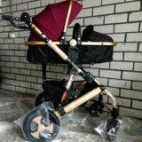 Детская коляска-трансформер jiaobei 2 в 1. Фото 2.