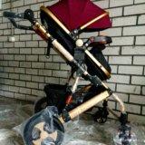 Детская коляска-трансформер jiaobei 2 в 1. Фото 3.