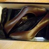 Туфли шоколадные. Фото 1.