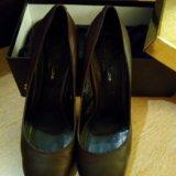 Туфли шоколадные. Фото 2.