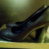 Туфли шоколадные. Фото 3.