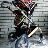 Детская коляска-трансформер jiaobei 2 в 1. Фото 2. Тюмень.