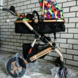 Детская коляска-трансформер jiaobei 2 в 1. Фото 3. Тюмень.