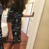 Платье синее. Фото 1.